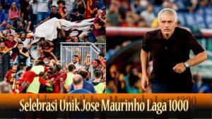 Selebrasi Unik Jose Maurinho Laga 1000