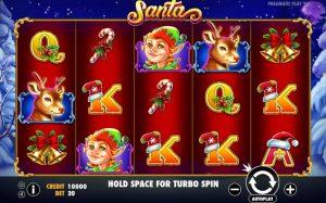 Review slot online Pragmatic Play Santa